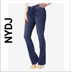 NYDJ Bling Pocket  Bootcut Jeans 10